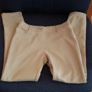 CHAPS Girls tan leggings size 10